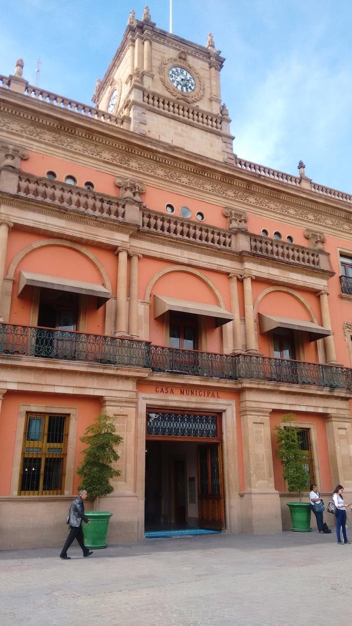 The City Hall in Leon, Guanajuato.