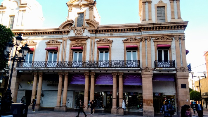 Walking around Leon's Main Square.