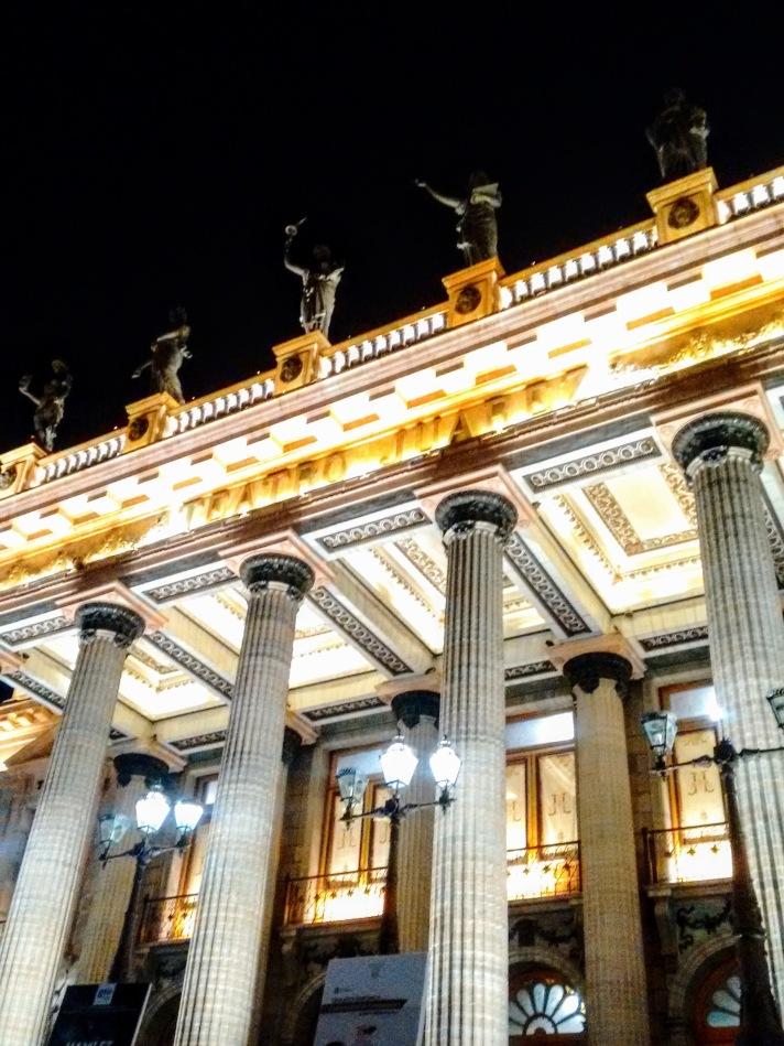 Teatro Juárez en Guanajuato.