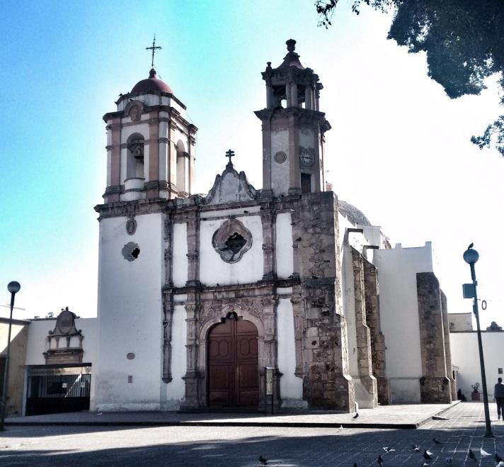San Juan de Dios church in Leon.