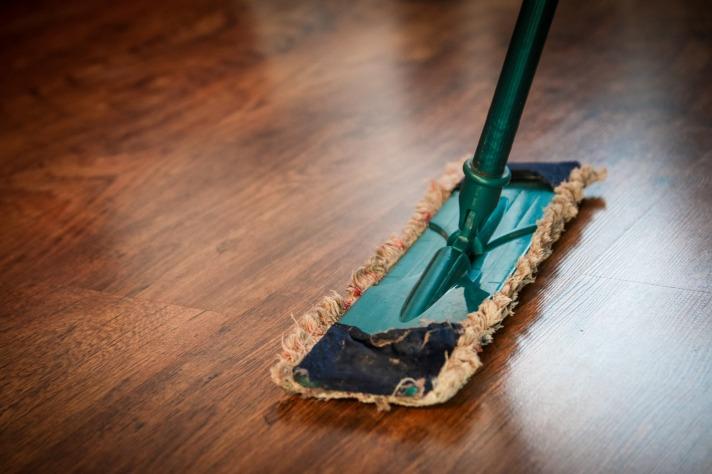 Sweeping, mop.